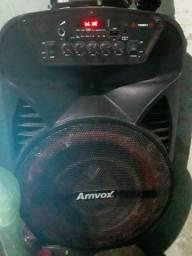 Título do anúncio: Vendo ou troco caixa de som da marca amvox