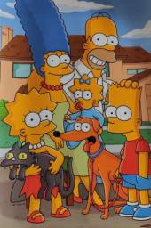 Título do anúncio: Pôster + Tapete dos Simpsons