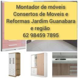 Montador de móveis  consertos e reformas de móveis