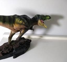 Escultura Dinossauro T Rex
