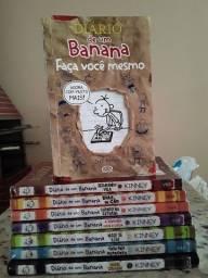 Coleção de livros Diário de um banana