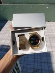 Relógio Technos Connect Srae4 Dourado