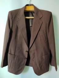 Blazer vintage marrom Temper (tamanho 48)