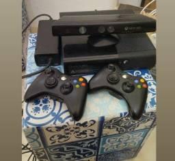 Xbox 360 completo e com kit conect