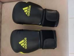 Título do anúncio: Luva de boxe Adidas feminina + bandagem
