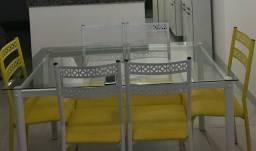 Título do anúncio: Conjunto Mesa + 6 cadeiras
