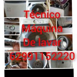 Título do anúncio: Técnico em conserto maquina de lavar