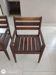 Título do anúncio: Cadeiras de madeira maciça