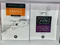 Título do anúncio: Livros de arquitetura NOVOS