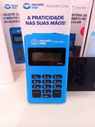 Maquina de Cartão MINI CHIP - Vai Com Internet Grátis.