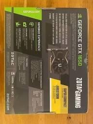 Zotac NVIDIA GeForce GTX 1650 4GB, GDDR5 -Vendo ou troco