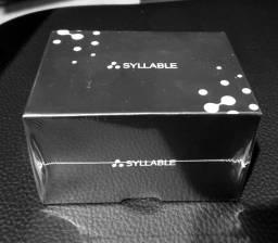 Fone de Ouvido Syllable S101 - novo, lacrado