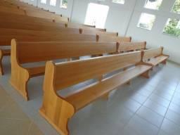 Título do anúncio: Bancos, Altares e tribunas - Todos os tipos de móveis para igrejas