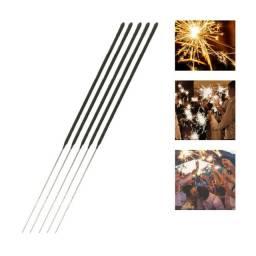 Vela Decorativa Sparkler Casamentos Festas Eventos 15pc