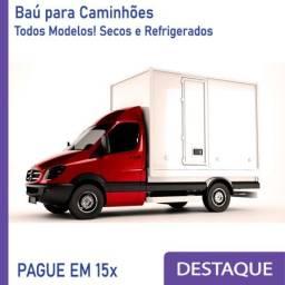 Título do anúncio: Baú Refrigerado e Baú Seco para Caminhão Modelo Anos 2010, 2.. D 380