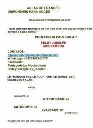 Título do anúncio: Aulas de francês disponíveis para vocês.