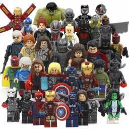 Lego heróis,jurássico e starwars