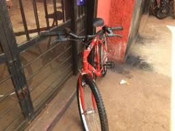 Bicicleta masculina de marcha 18 velocidades