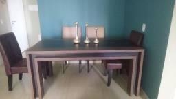 Mesa e conjunto 6 lugares