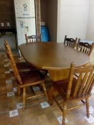 Troco mesa de madeira