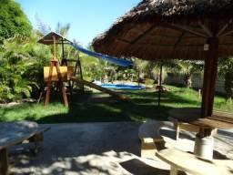 Sítio a 30 m praia Riacho Doce, 5.700 m², casa 4/4 + DCE, piscina, 12 vagas, só 2.200.000!
