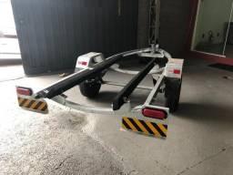 Carreta Reboque para JetSki até 3 Lugares Galvanizada Pneus novos