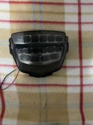 Lanterna Cbr 1000rr 2008 a 2012 com pisca embutido de led