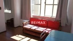 Kitnet com 1 dormitório para alugar, 20 m² por r$ 600,00/mês - alto - teresópolis/rj