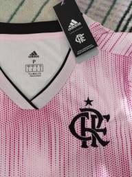Camisa rosa do Flamengo