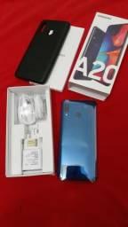 Samsung A20 Novo na caixa com nota fiscal