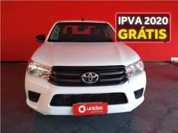 Toyota Hilux 2.8 std 4x4 cd 16v diesel 4p manual - 2019