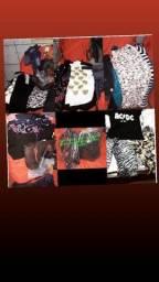 Lote de roupas e utilidades domésticas7 vestidos,