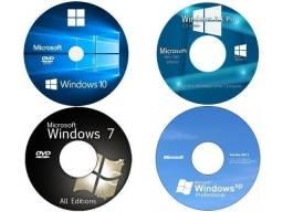 DVD windows 7 8 10 com ativador pacote office 2013 2016 2019 com ativador
