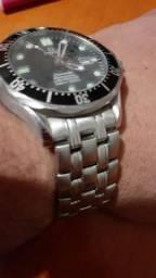 Relógio omega usado 007 seamaster 300/1000ht