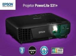 Projetor Epson S31+ com acessórios