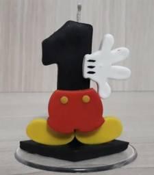 Vela Biscuit Mickey 1 aninho