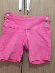 Shorts bermuda feminina