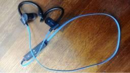 Fone de Ouvido Earphone Bluetooth CSR4.1 à Prova de Respingos e de Suor Esportes Corrida p