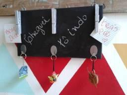 Porta chaves e bilhetes