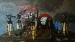 Miniatura filmadora retrô