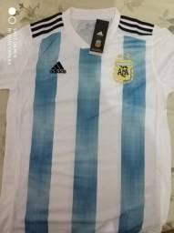 Camisa Argentina 2018 Original Nova