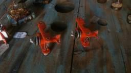 Miniatura barão vermelho retrô