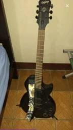 Guitarra epiphone LP gotich studio