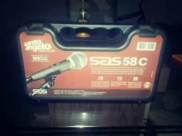 Microfone santo angelo