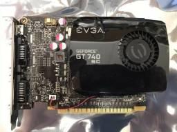 Placa de vídeo Evga GT740 ( Não Entrego )