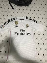 e03ec97535 Camisa Real Madrid Champions League 2014