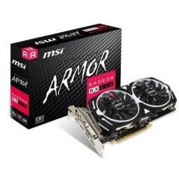 Barbada Placa de Vídeo MSI AMD Radeon RX 570 Armor 8G OC, GDDR5
