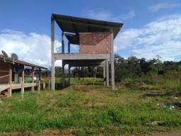 Terreno com estrutura pré fabricada - Vila das Palmeiras - Morretes