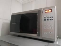 56869fb24 Forno de Micro-ondas Brastemp BMS45BB Ative! com Timer - 30 L