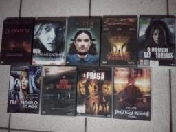 Kit Box 9 Dvds Filmes Original Terror Envio Imediato